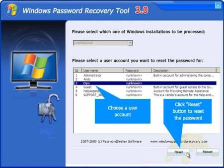 Windows Password Recovery Tool 6 4 3 0 Crack Ultimate