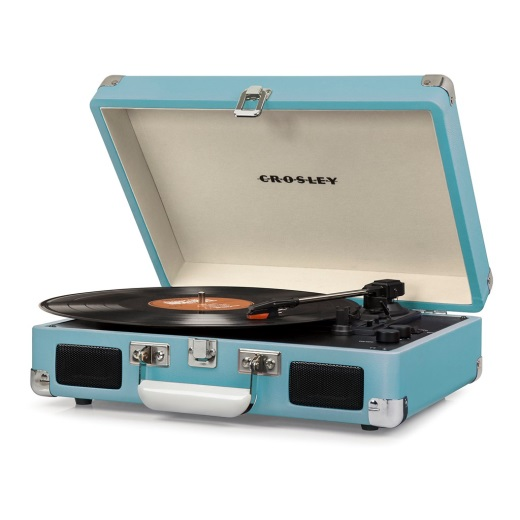 Crosley ® Cruiser Portable Record Player - Turquoise
