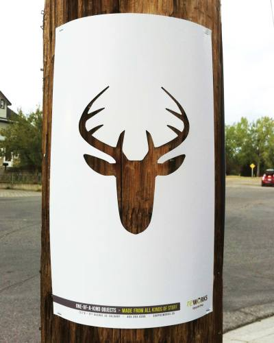 deer for Upcycled Goods at Reworks