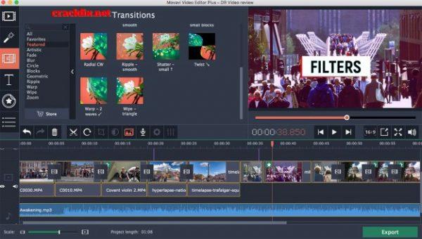 Movavi Video Editor 15.4.1 Crack + Activation Key 2020 Free - [Latest]