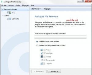 Auslogics File Recovery 10.2.0.0 Crack + Keygen 2021 [Latest] Download