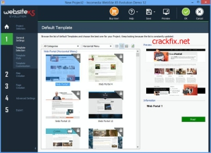 WebSite X5 Evolution 2021.3.5 Crack & Serial Key Full Free - CrackFix