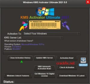 Windows KMS Activator Ultimate 2021 v5.5 For Windows & Office [Latest]