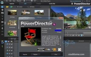 Cyberlink PowerDirector 20.0.2204.0 Crack + Keygen [Latest 2022]