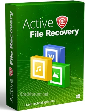 Active@ File Recovery 2021 Crack