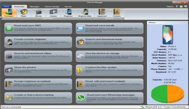 iDevice Manager Crack + Serial key