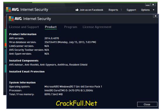 AVG Internet Security 2018 Serial Number