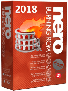 Nero Burning Rom 2018 Crack Patch + Serial Number Download
