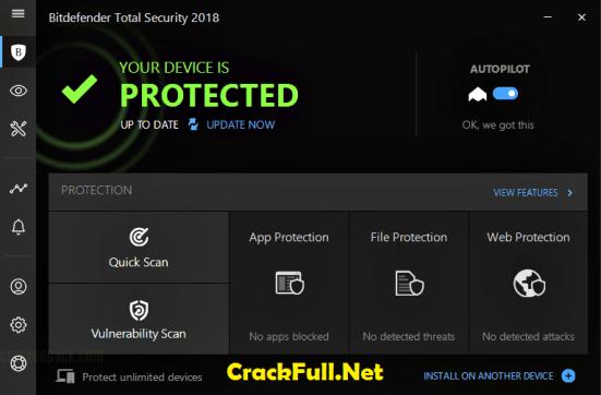 Bitdefender Total Security 2018 License Key