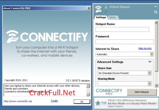 Connectify Hotspot Pro 2018 Full Crack Download