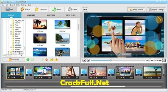 SmartShow 3D Crack Keygen With Serial Key Full Version