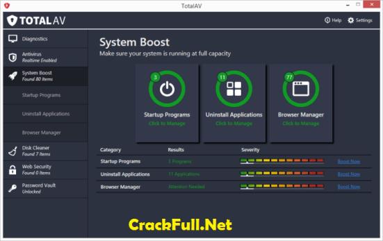 Total AV Antivirus 2018 Crack