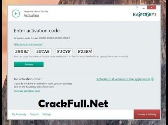 Kaspersky Antivirus 2019 Activation Code