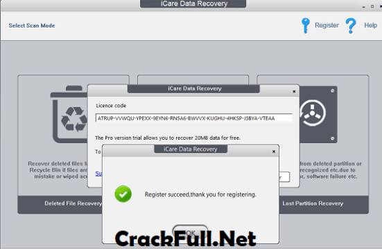 iCare Data Recovery Pro Registration Code