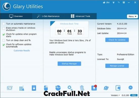 Glary Utilities Pro 5 Key
