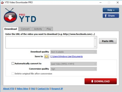 YTD Video Downloader Pro 5.9.10
