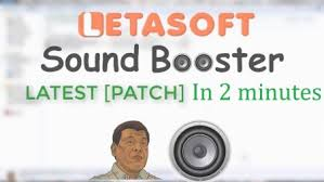 Letasoft Sound Booster Crack