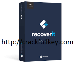 Wondershare Recoverit 8.0.6.2 Crack With Registration Code Free Download 2019