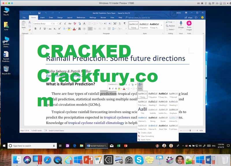 Parallels Desktop Cracked 2021