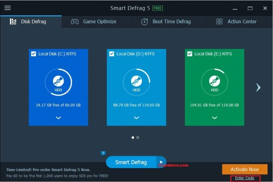 IObit Smart Defrag Serial Key