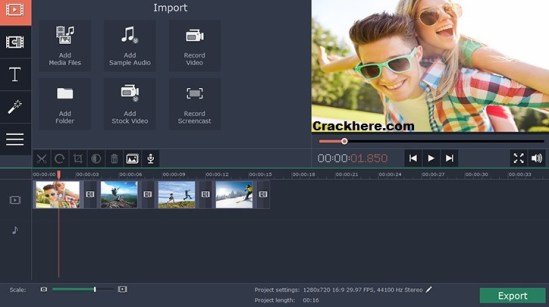 Movavi Video Editor 14 Crack Mac + Windows