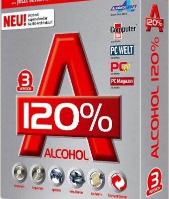 Alcohol 120% Crack + Keygen