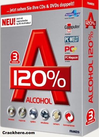 Alcohol 120% 2.0.3.10521 Crack Full Keygen Free 2018