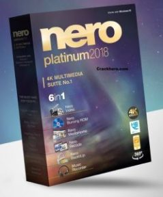 Nero 2018 Crack Platinum Serial key