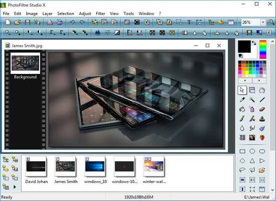 PhotoFiltre Studio X 10 incl Activation Key Full Version