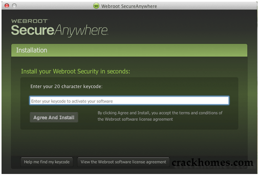 Webroot SecureAnywhere Antivirus 2019 Crack + Activation Key
