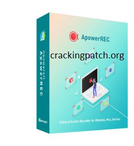 ApowerREC Crack 1.4.12.8 + Keygen Free Download 2021