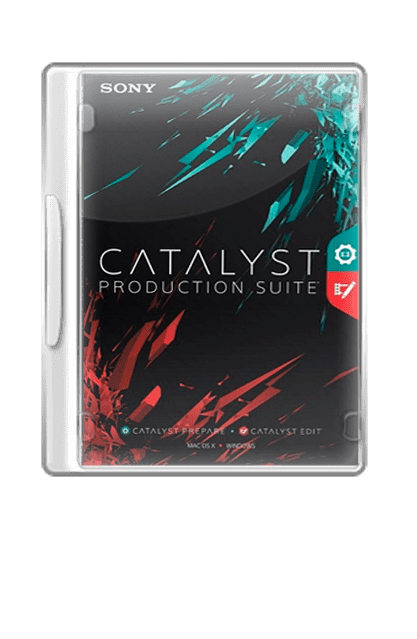 Sony Catalyst Production Suite incl patch