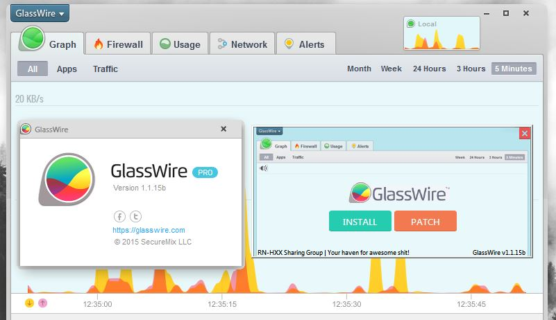 download glasswire mod apk