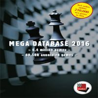 Chessbase Mega Database 2016 Update 41
