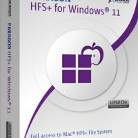 Paragon HFS+ for Windows 11.0.0.175