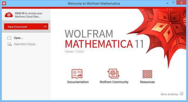Wolfram Mathematica 11.1.0