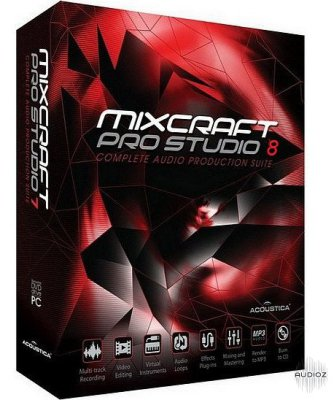 Acoustica Mixcraft Pro Studio incl keygen