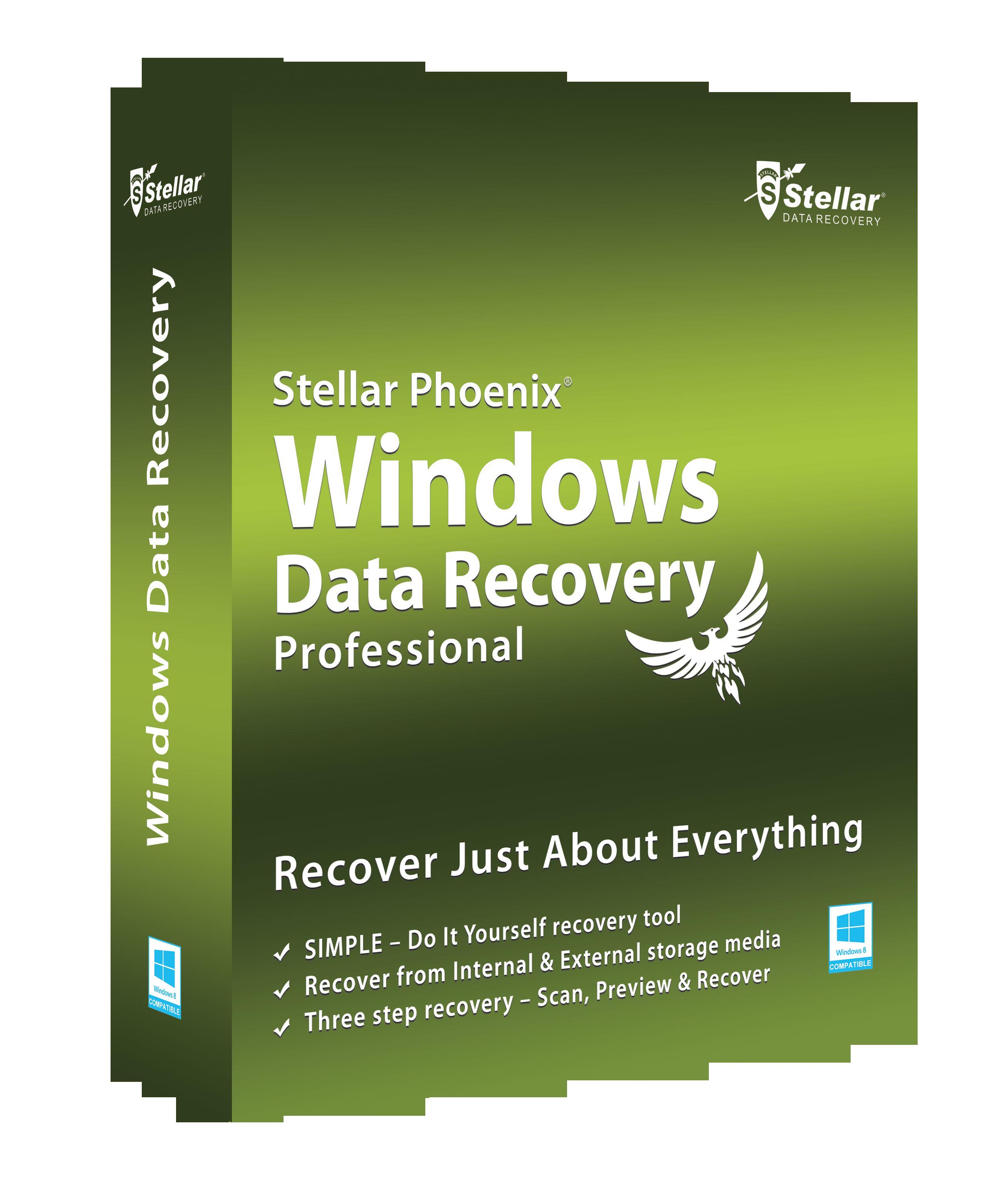 stellar phoenix windows data recovery 5.0 crack free download