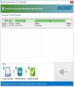 Macrorit Partition Extender 1.3.1 Unlimited Edition + keygen