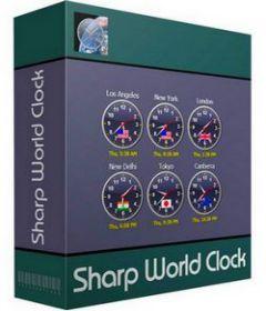 Sharp World Clock 8.4.4 + keygen