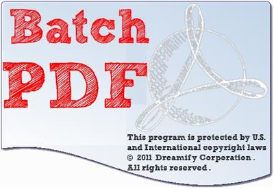Batchwork Doc to PDF Converter 2018.10.915.2110