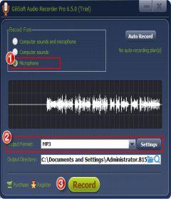GiliSoft Audio Recorder Pro 8.0.0 + keygen