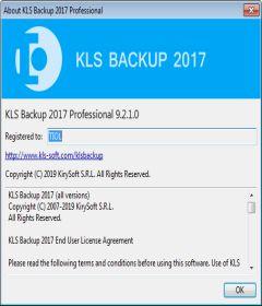 KLS Backup 2017 Professional 9.2.1.0 + x64 + Keygen