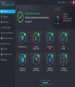 Ashampoo WinOptimizer 16.00.21 + patch