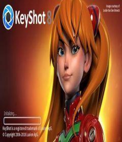 Luxion Keyshot Pro 8.2.80 + x64 + keygen