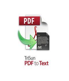 TriSun PDF to Text + key