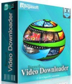 Bigasoft Video Downloader Pro 3.17.6.7129 + keygen