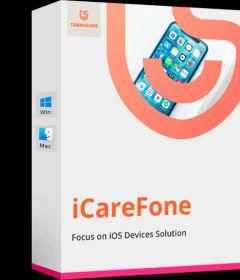 Tenorshare iCareFone 5.6.0.10 + key