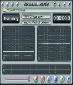 AD Sound Recorder 5.7.4 + key