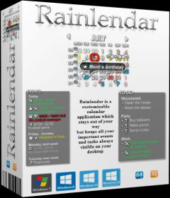 Rainlendar Pro 2.15.1 Build 163
